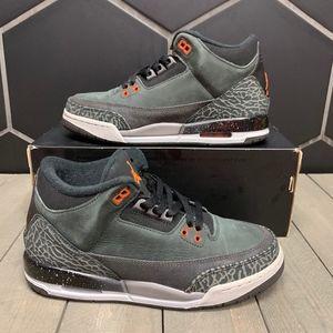 Used W/ Box! Air Jordan 3 Fear GS Shoe Size 6.5Y
